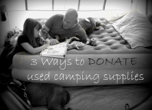 Donate Camping Gear
