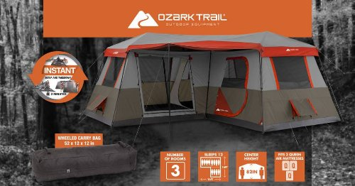 OZark-Trail-Instant-Tent & The Best Tent We Ever Had! -