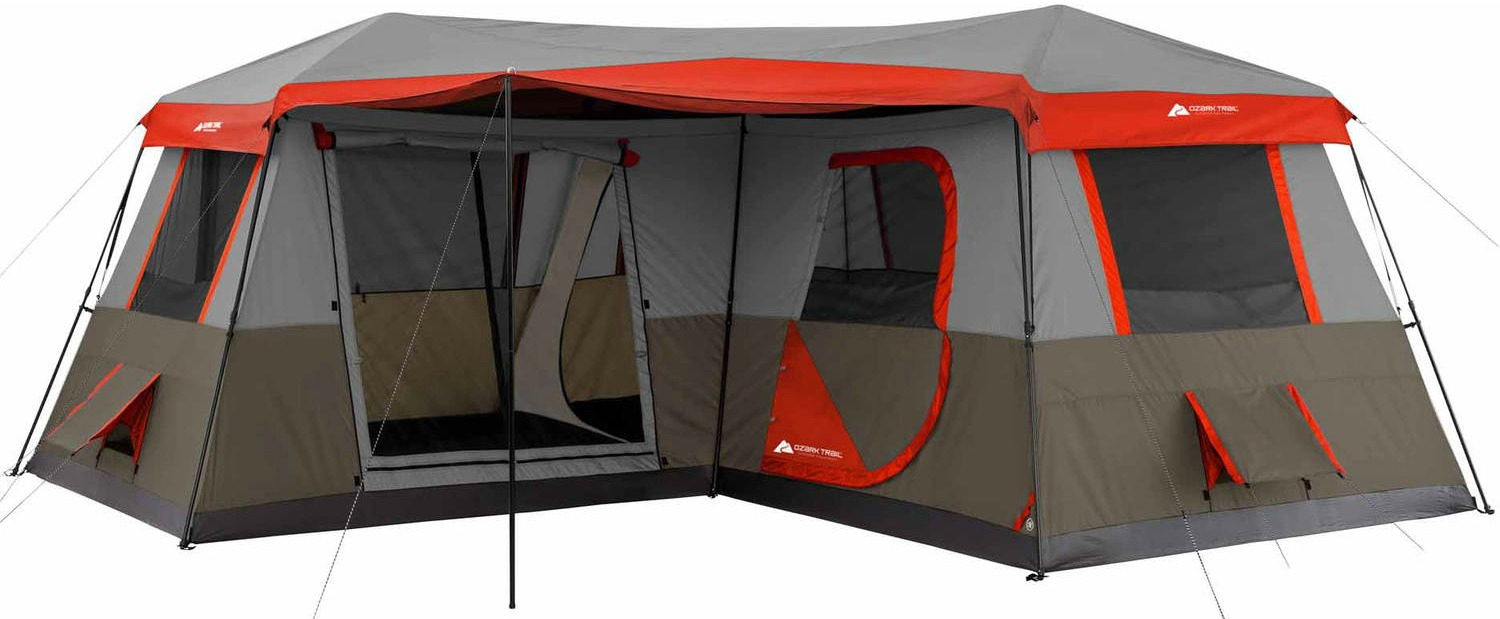Ozark Trail 3 Room Instant Cabin Tent  sc 1 st  Drive Me Crazy Family Adventure & The Best Tent We Ever Had! -
