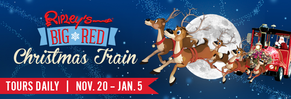 Ripley's Christmas Train St. Augustine!